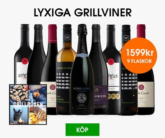 Lyxiga Grillviner
