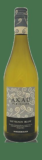 Akau Sauvignon Blanc 2019 Sauvignon Blanc 100% Sauvignon Blanc Marlborough