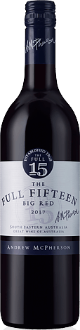Andrew Mcpherson Full Fifteen 2017 Ruby Cabernet