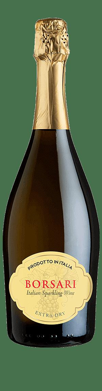 Borsari Spumante Extra Dry NV  Annan Blandade inhemska druvsorter Vino d'Italia