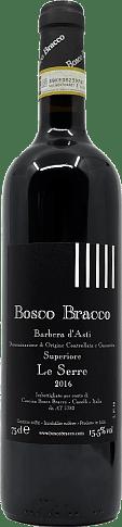Bosco Bracco Le Serre Barbera d'Asti Superiore 2016 Barbera