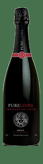 Bougrier Pure Loire Crémant De Loire Brut Aop NV  Chenin Blanc 45% Chenin Blanc, 45% Chardonnay, 10% Orbois Loire