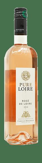 Bougrier Pure Loire Rose 2018 Groulleau Grolleau, Gamay, Cabernet Franc Loire