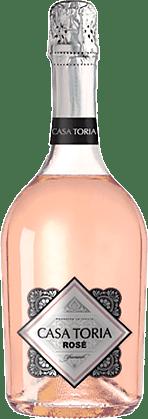 Casa Toria Rosé Spumante Extra Dry NV Annan