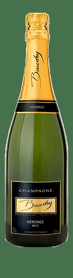 Champagne Baudry Brut Héritage NV (i trälåda) Pinot Noir 100% Pinot Noir Champagne