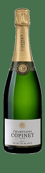 Champagne Copinet Blancs de Blanc Brut (i trälåda) Chardonnay 100% Chardonnay Champagne