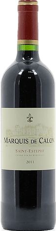 Château Calon-Ségur, Marquis de Calon Saint-Estèphe Rouge 2011 Merlot