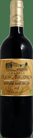 Château Franc-Baudron Montagne-Saint-Émilion 2015 Merlot