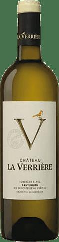 Château la Verriere Bordeaux Blanc 2018 Sauvignon Blanc