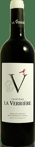 Château la Verriere Bordeaux Supérieur 2018 Merlot
