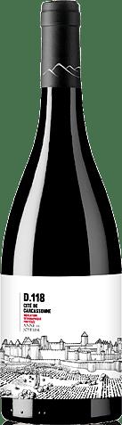 Cite de Carcassonne D118 Rouge 2017 Merlot