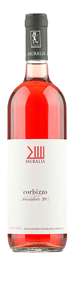 Muralia Corbizzo Rosato Toscana 2019 Shiraz-Syrah