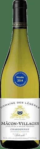 Domaine des Légères Mâcon-Villages Belcombe 2015 Chardonnay