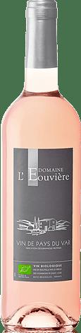 Domaine l'Eouvière Rosé IGP Var Bio 2018  Merlot