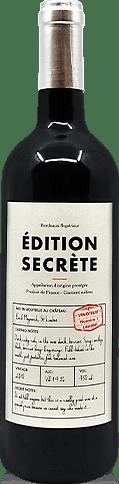 Édition Secrète Bordeaux Superieur 2010 Cabernet Sauvignon