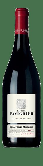 Famille Bougrier La Grande Réserve Saumur Rouge 2017  Cabernet Franc 100% Cabernet Franc Loire