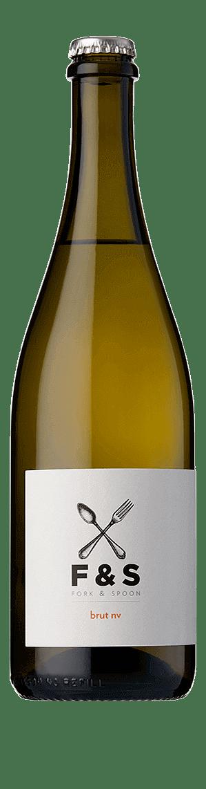 Fork & Spoon Brut NV Chardonnay Chardonnay, Pinot Blanc South Eastern Australia