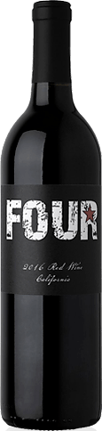 Four Star California Red Blend 2017 Red Blend