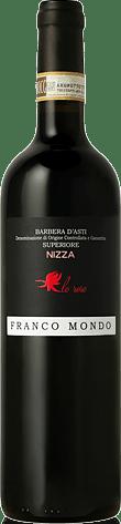 Franco Mondo Barbera d'Asti Superiore Nizza La Rose 2013 Barbera