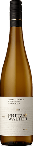 Fritz Walter Riesling 2016 Riesling
