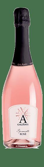 Galanti Vino Spumante Rosato Extra Dry NV Övriga Blandning av italienska blå druvor Venetien