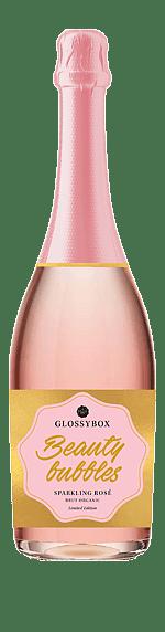 Glossybox Beauty Bubbles Sparkling Rosé Brut Organic  Ekologiska druvsorter från norra Italien Venetien