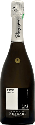 Jean-Paul Hebrart Rive Gauche/Rive Droite Millesime Grand Cru 2013  Chardonnay