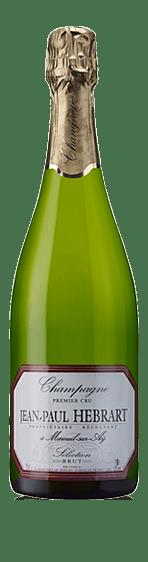 Jean-Paul Hebrart 1er Cru Sélection Vielles Vignes Brut NV Pinot Noir 65% Pinot Noir och 35% Chardonnay. Champagne
