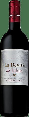 La Devise de Lilian 2014 Cabernet Sauvignon