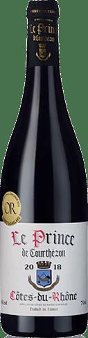 Le Prince de Courthézon Côtes du Rhône 2018 Grenache