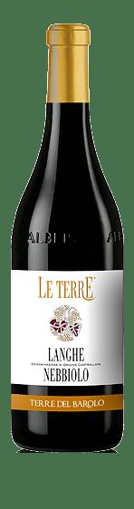 Le Terre Langhe Nebbiolo 2018 Nebbiolo 100% Nebbiolo Piemonte