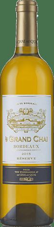 Le Grand Chai Bordeaux Réserve 2015 Sauvignon Blanc