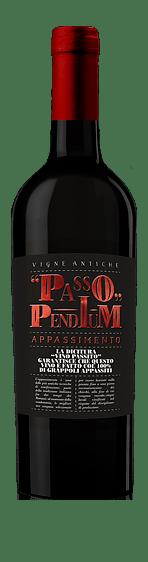 Passo Pendium Appassimento Rosso 2018 Primitivo 50% Primitivo, 50% Negroamaro Puglia