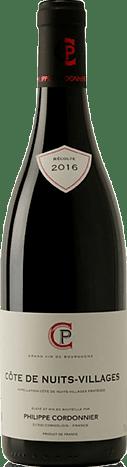 Philippe Cordonnier Côte de Nuits Village AOC rouge 2016 Pinot Noir