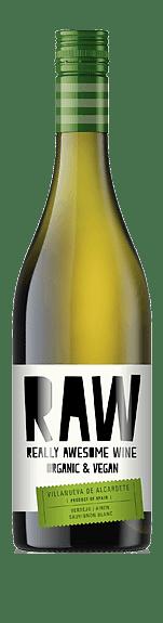 RAW Bio & Vegan Blanco 2018 Verdejo 50%Verdejo, 40% Airen, 10% Sauvignon Blanc  Vino de Mesa