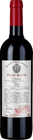 Selección Numerada Rioja Crianza v15 2016 Tempranillo