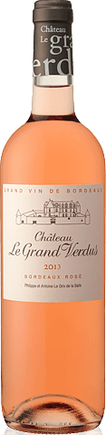 Château Le Grand Verdus Rosé 2013 Cabernet Franc