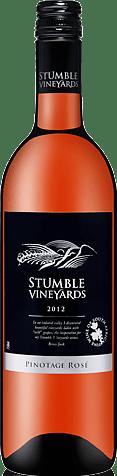 Stumble Vineyards Pinotage Rose 2012 Pinotage