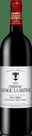 Château Ramage La Batisse Haut-Médoc AOC Cru Bourgeois 2003 Merlot