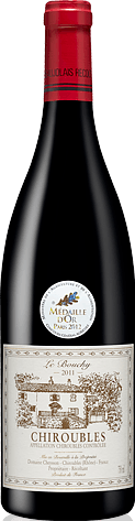 Domaine Cheysson Le Bouchy Chiroubles 2011 Gamay