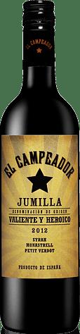 El Campeador 2012 Monastrell