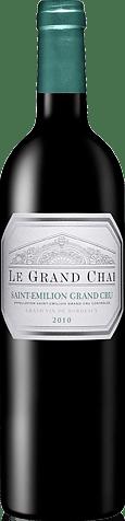 Le Grand Chai Saint Emilion Grand Cru 2010 Merlot
