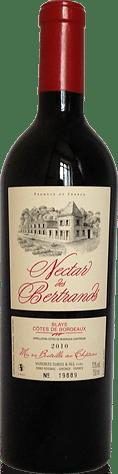 Château les Bertrands Nectar Blaye Rouge 2010 Merlot