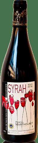 Pascal Marthouret Syrah 2012 Shiraz-Syrah