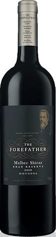 The Forefather Gran Selección Malbec Shiraz 2010 Malbec