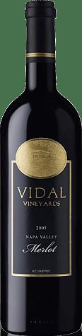 Vidal Vineyards Merlot 2005 Merlot