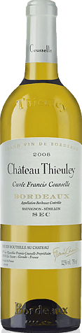 Château Thieuley Cuvée Francis Courselle 2008 Sauvignon Blanc