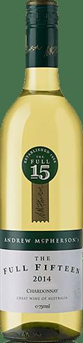 Mcpherson Full Fifteen Chardonnay 2014 Chardonnay