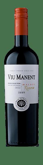 Viu Manent Malbec Reserva Est. Collection Colchagua 2018 Malbec 100% Malbec Valle Central
