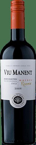 Viu Manent Malbec Reserva Est. Collection Colchagua 2015  Malbec